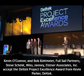 2012 Deltek Project Excellence Partner Award