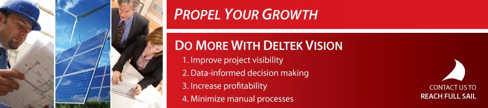 Deltek Vision is an ERP solution designed for project-based industries