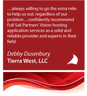 Tierra West Hosting Recommendation