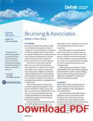 Deltek Vision First Essentials Brunsing Associates