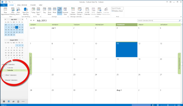Deltek Kona, Kona, Calendar Integration