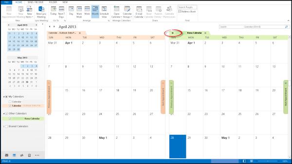 Kona, Outlook, Integration