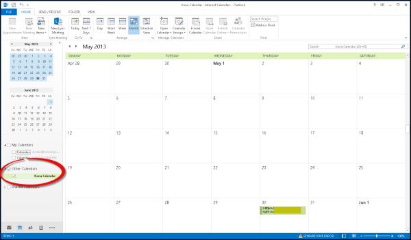 Kona, Deltek Kona, Outlook Integration