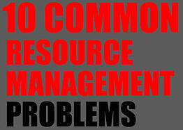 Resource Management, Resource Management Problems, ERP, Deltek Vision