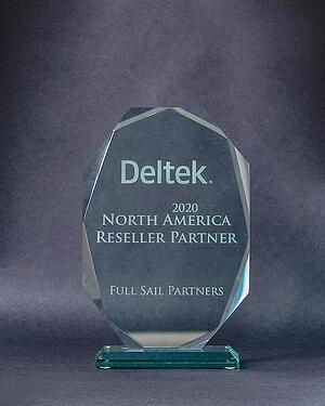 2020 North America Deltek Reseller Partner Award