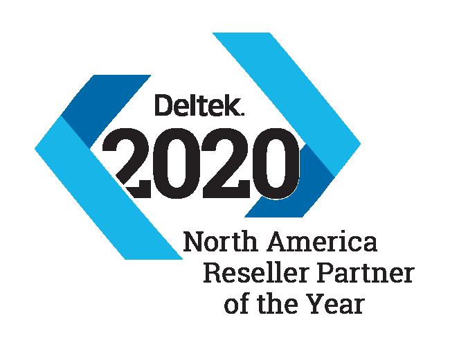 2020 Deltek Partner of the Year Award logo