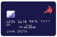 Vision 7.6 Credit Cards