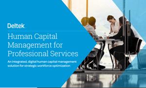 Deltek HCM for Professional Services eBook