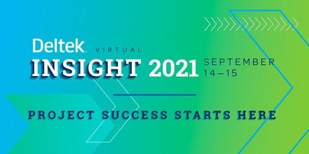 Deltek Insight 2021 logo