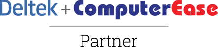 Deltek + ComputerEase logo