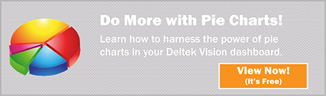 Power of Pie Charts in Deltek Vision dashboards