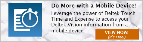 Deltek Touch Time and Expense